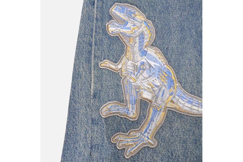 リーバイス 2G から空山基の作品を刺繍した Levi's® 公認のカスタマイゼーションジーンズが登場