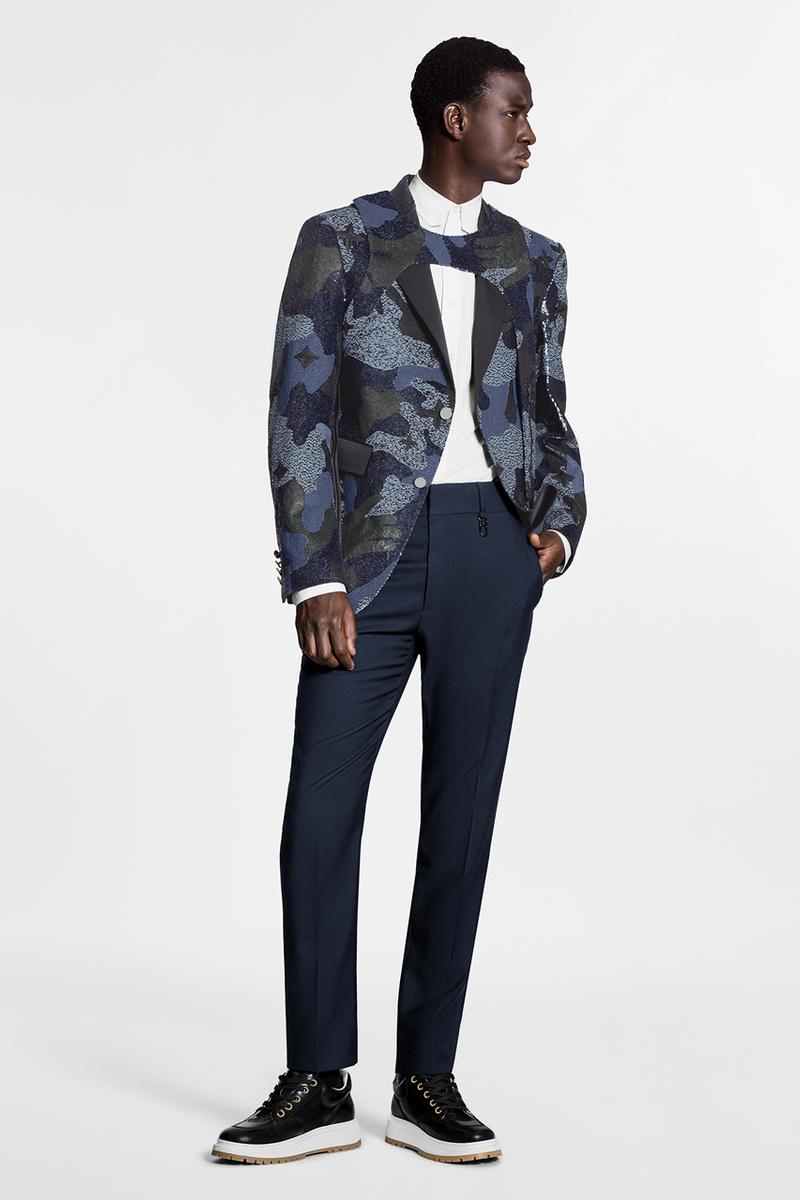 Louis Vuitton がマルチパターンを落とし込んだ2020年秋冬プレコレクションを発表 Louis Vuitton Pre-Collection FW20 Menswear Patterns leaf camouflage monogram camo fall winter 2020 virgil abloh printed bag