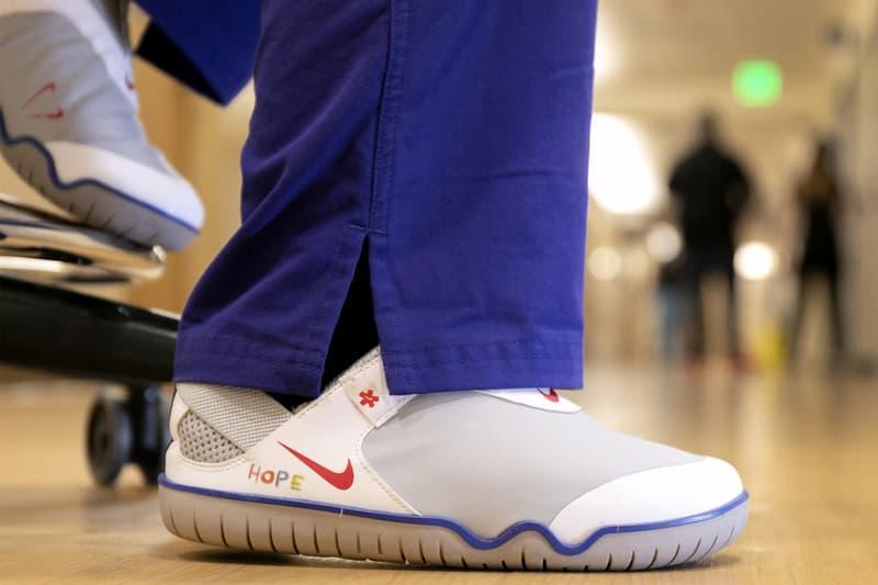ナイキ エア ズーム パルス Nike が新型コロナウイルスの医療従事者に Air Zoom Pulse などを大量に寄付 nike beaverton frontline medical healthcare workers donation 140000 footwear equipment apparel air zoom pulse