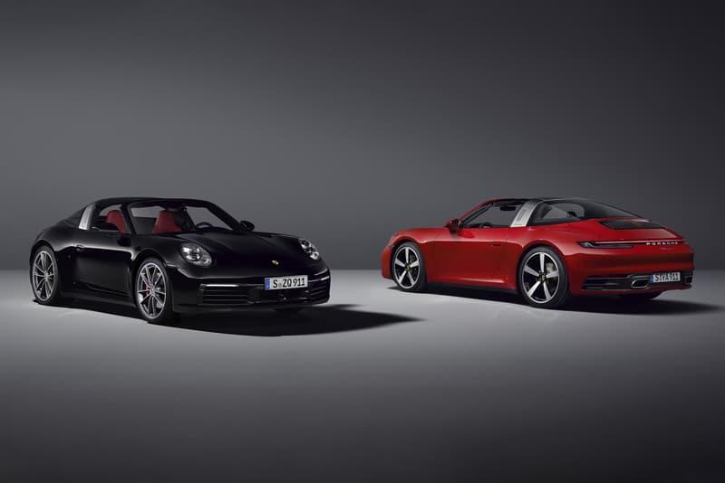 ポルシェ タルガ Porsche が911シリーズの新型 911 Targa 4/4S を発表 Porsche 2021 911 Targa 4 and 4S Unveiled 992 911 Targa German automotive cabriolet convertible drop-top summer driving racing boxer engine