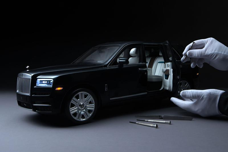 ロールスロイス Rolls-Royce が1/8スケールの超精巧なミニカーを発売 Rolls-Royce Releases $27,000 USD 1:8-Scale Cullinan model Luxury SUV Design Collectibles British automotive Supercar