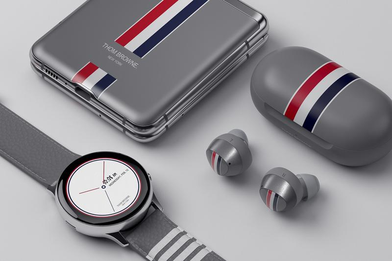 Thom Browne × Samsung の最新スマートフォン Galaxy Z Flip の限定コラボモデルが国内販売を開始