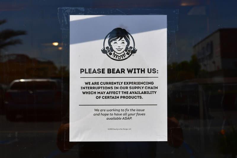 ウェンディーズ 米 Wendy's の1,000以上の店舗メニューからハンバーガーが消える? Several Wendy's Locations Pulls Burgers From Menu meat shortage beef coronavirus covid-19