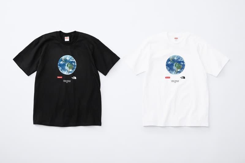 シュプリーム Supreme 2020年春夏コレクション発売アイテム - Week 13 〈THE NORTH FACE(ザ・ノース・フェイス)〉とのコラボ第2弾のピースを筆頭に、フーディ2種類、バンダナ柄のシャツ、ホッケーシャツ、レーシングのグラフィックを全面にプリントしたセットアップ、デニムキャップ、「富士フイルム株式会社」のインスタントフィルム instax mini 10枚セットなど〈Supreme〉らしい遊び心に富んだプロダクトの数々が並ぶ。