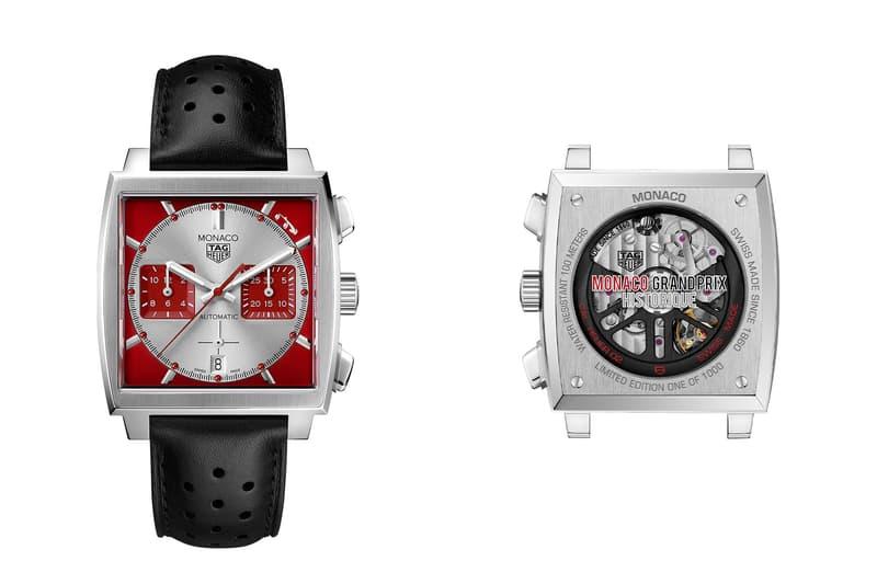 タグ・ホイヤー TAG Heuer からモナコの歴史的なクラシックカーレースに捧げる限定タイムピースが登場 Grand Prix de Monaco Historique TAG Heuer chronograph racing watches accessories