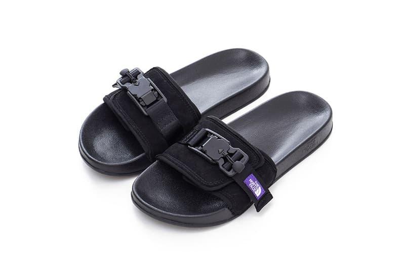 ザ・ノース・フェイス パープル レーベル THE NORTH FACE PURPLE LABEL から2020年春夏シーズンの新作サンダルが発売 THE NORTH FACE PURPLE LABEL Knit Leather Sandals TNF Slippers Slides