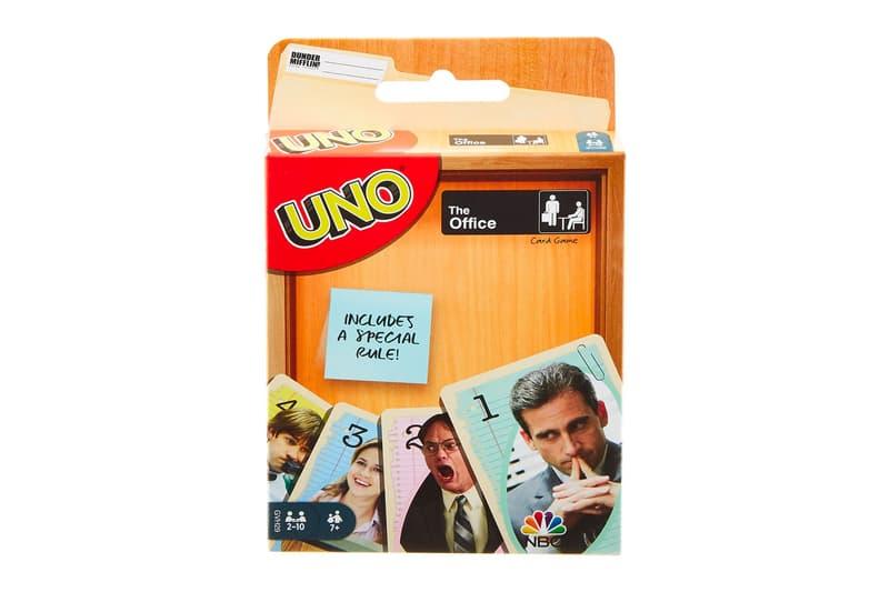 ザ・オフィス 大ヒット海外ドラマ『The Office』をテーマとした UNO が登場 The Office UNO Card Game Release Info Dunder Mifflin nbc steve carrell michael Jim Pam Dwight john krasinski