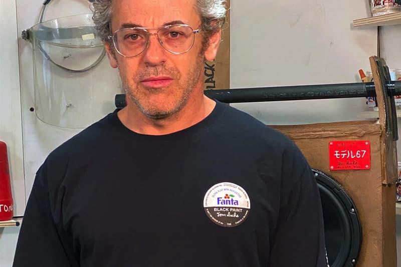 ファンタ トム・サックスが Fanta をモチーフにした限定Tシャツを突如リリース tom sachs fanta black long sleeve tee shirt clothing apparel style fashion