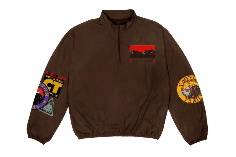 "トラヴィス・スコット ""カクタス トレイルズ"" Travis Scott が ""Cactus Trails"" をテーマにした新作マーチャンダイズをドロップ Travis Scott Cactus Trails Merch Collection Release Info 270 React Nike Hoodie T-shirt sherpa vest pullover shorts sleeping bag hammock socks bandana keychain bottle"