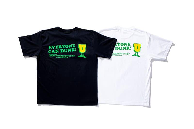 """アンディフィーテッドがナイキ ダンク ブラジルを記念したTシャツをリリース UNDEFEATED が Nike Dunk Low """"Brazil"""" の復刻リリースを記念したスペシャルTシャツをリリース"""