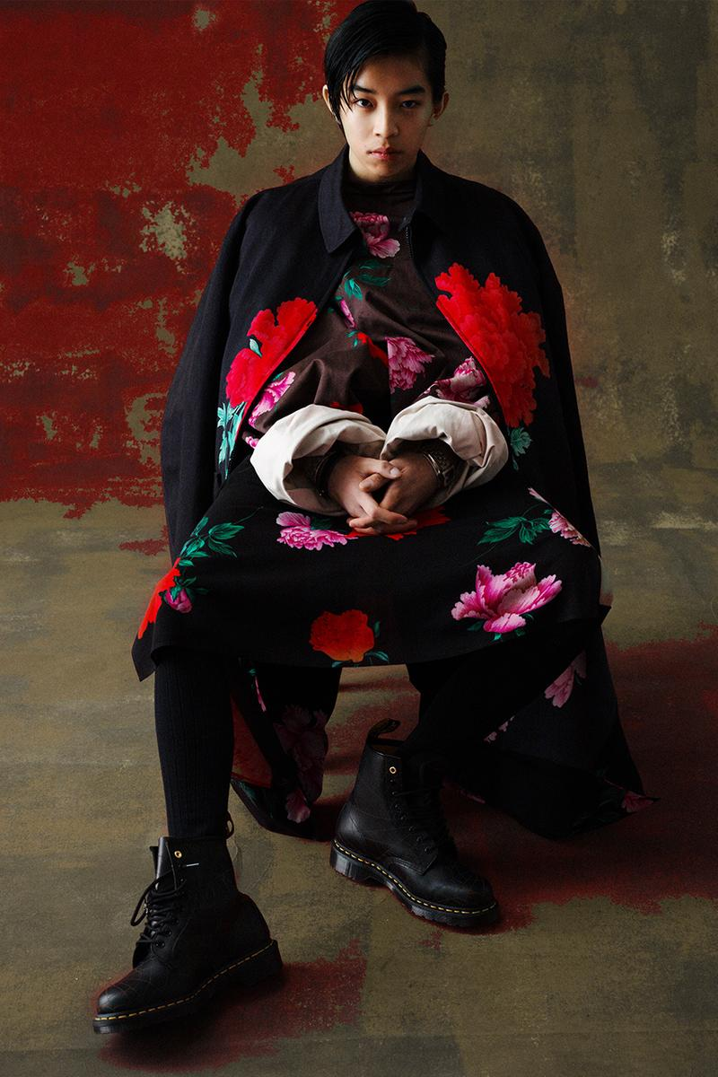 "YOHJI YAMAMOTO ヨウジヤマモト の""REPLICA"" レプリカ シリーズより新作カプセルコレクション Yohji Yamamoto POUR HOMME 1996 S/S Collection が発売"
