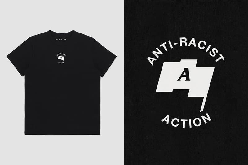 テンセブンティーン アリクス ナインエスエム アンチレイシストアクション 1017 ALYX 9SM から Anti-Racist Action Tシャツが再発決定 1017 ALYX 9SM Anti-Racist Action Charity T-Shirt release info mathew m williams uber and kosher  National Bail Out secure.actblue.com/donate/freeblackmamas2020  Campaign Zero www.joincampaignzero.org/  The Freedom Fund www.lgbtqfund.org/ grassroots activism