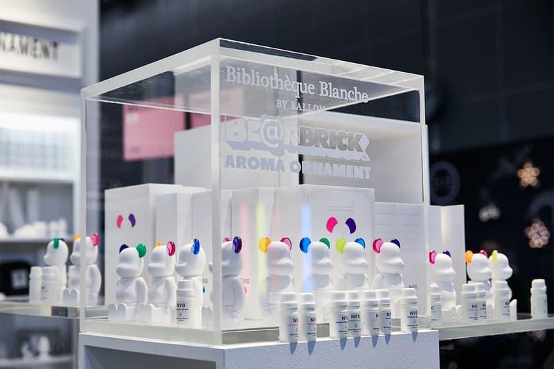 BE@RBRICK ベアブリックとのコラボで注目される Bibliothèque Blanche ビブリオテク ブランシュが表参道 GYRE ジャイロ の CIBONE シボネ内に新店をスタート
