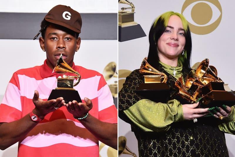 """米グラミー賞が""""アーバン""""の用語を含むカテゴリーの名称を変更 The GRAMMYs Renaming All Urban Categories Billie Eilish Tyler The Creator Republic Records BlackLivesMatter BLM Black Lives Matter Protests HipHop Hip Hop Rap Rapper Pop Categories Category Best New Artist"""