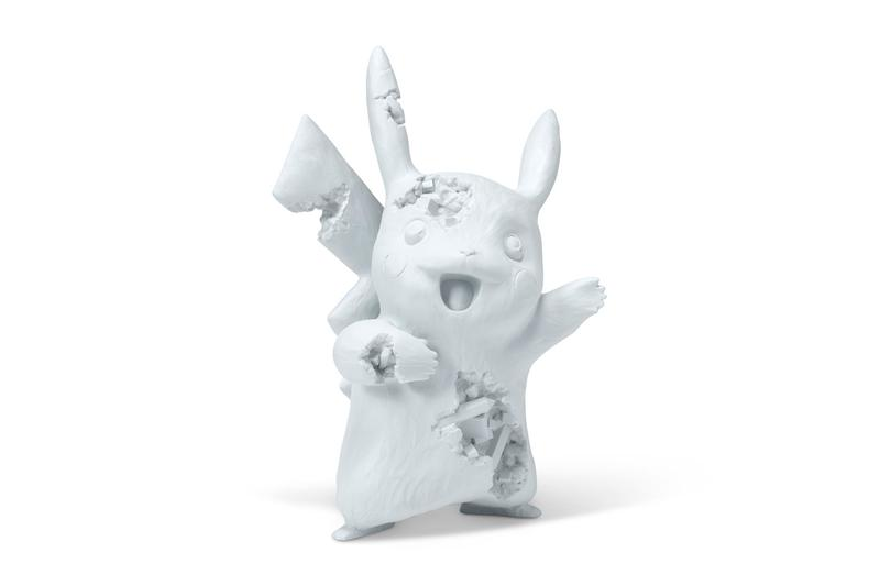 ダニエル・アーシャムの名作がクリスティーズ主宰のオークションに登場? Christie's Daniel Arsham Online Auction Closer Look Eroded Future Crystal Relics Pokemon Pikachu Clock Telephone Basketball Dior 'Rolling Stones' Magazines Jewelry Box