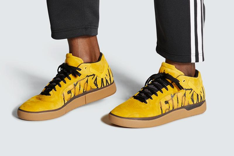 Fucking Awesome × adidas Skateboarding から TYSHAWN のコラボモデルが登場 fucking awesome adidas skateboarding tyshawn jones active gold yellow core black gum FX0865 official release date info photos price store list