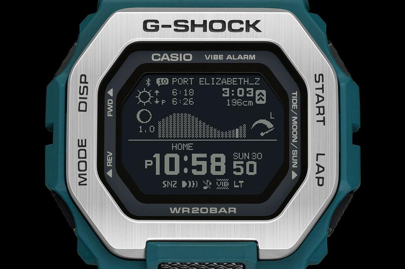 G-SHOCK のスポーツライン G-LIDE からスマートフォン連携機能を搭載した新モデルが登場