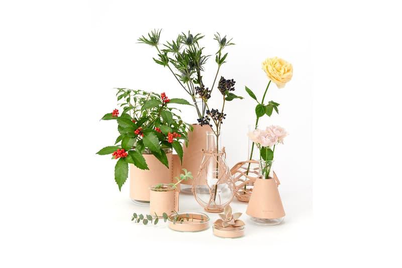"""エンダースキーマ Hender Scheme が実験器具にレザーをミックスした新プロダクトライン """"science vase:化瓶""""を発売"""