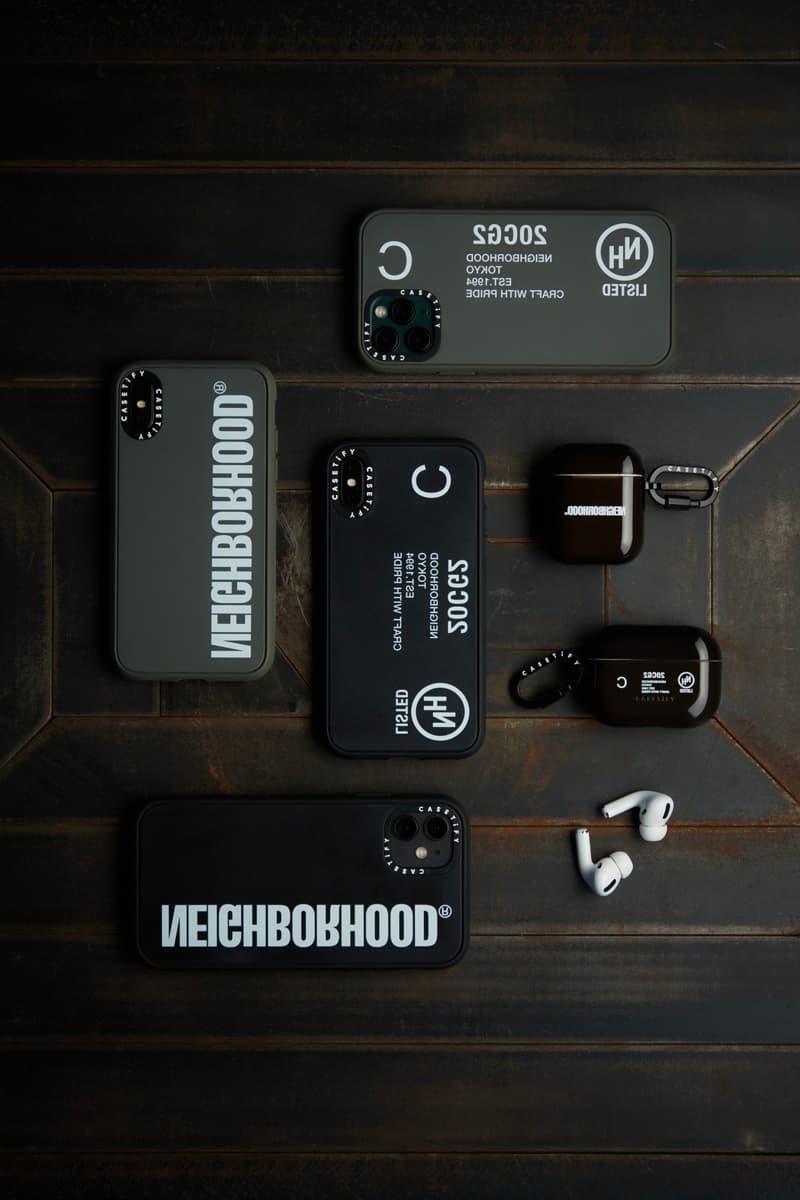 ネイバーフッド ケースティファイ NEIGHBORHOOD × CASETiFY によるコラボプロダクトがリリース NEIGHBORHOOD CASETiFY Collection Release Info Buy Price Apple iphone case airpods pro