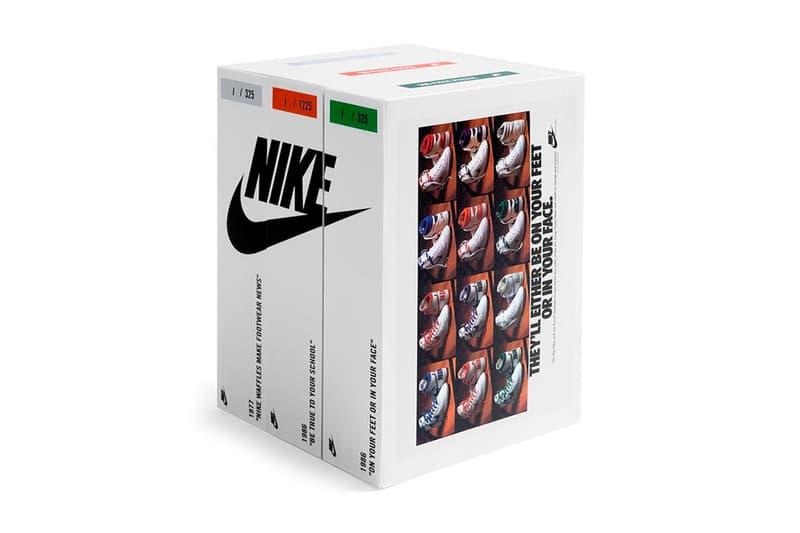 ナイキのビンテージ広告をパズル化した限定アイテムが登場 Nike Vintage Ad Puzzle Pack Release Info Buy Price 1977 Waffles Make Footwear News 1986 Be True To Your School On Your Feet Or in Your Face