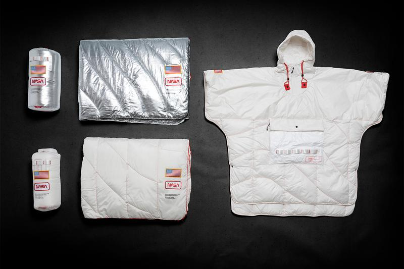 アメリカ発のブランケットブランド Rumpl と NASA がコラボアイテムを発表 Rumpl NASA NanoLoft Puffy Poncho Release Tyvek ripstop Apollo 13 Space travel expedition  outerwear jackets cozy