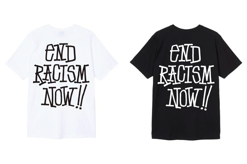 ステューシー ブラック・ライヴズ・マター STÜSSY が Black Lives Matter チャリティーTシャツをリリース Stüssy End Racism T-Shirt Release Info Buy Price Black White