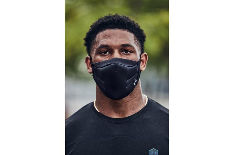 アンダーアーマー Under Armour がアスリート向けのフェイスマスクを発表