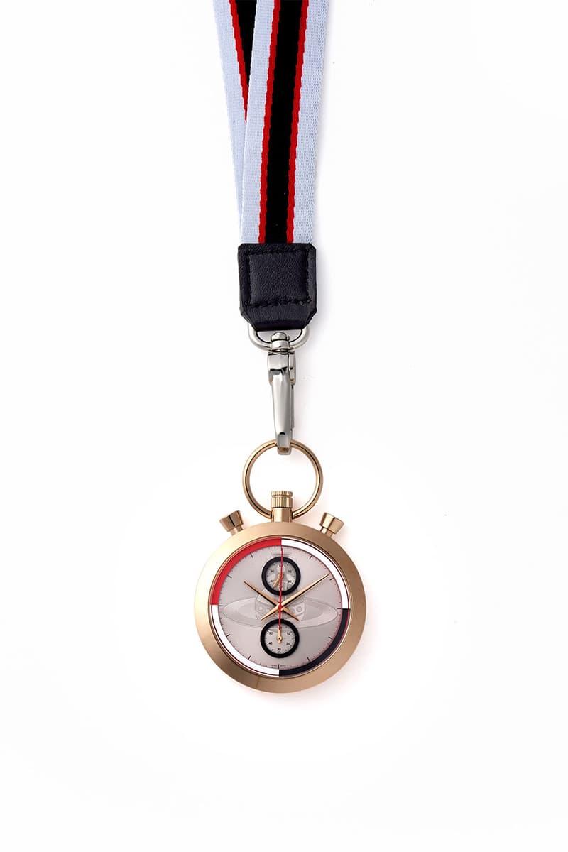 ヴィヴィアン・ウエストウッド Vivienne Westwood が新作時計 STOP WATCH を発売