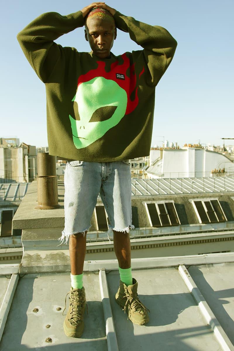 ユースオブパリス x フルビーケー YOUTH OF PARIS x FULL-BK のコラボコレクションが登場