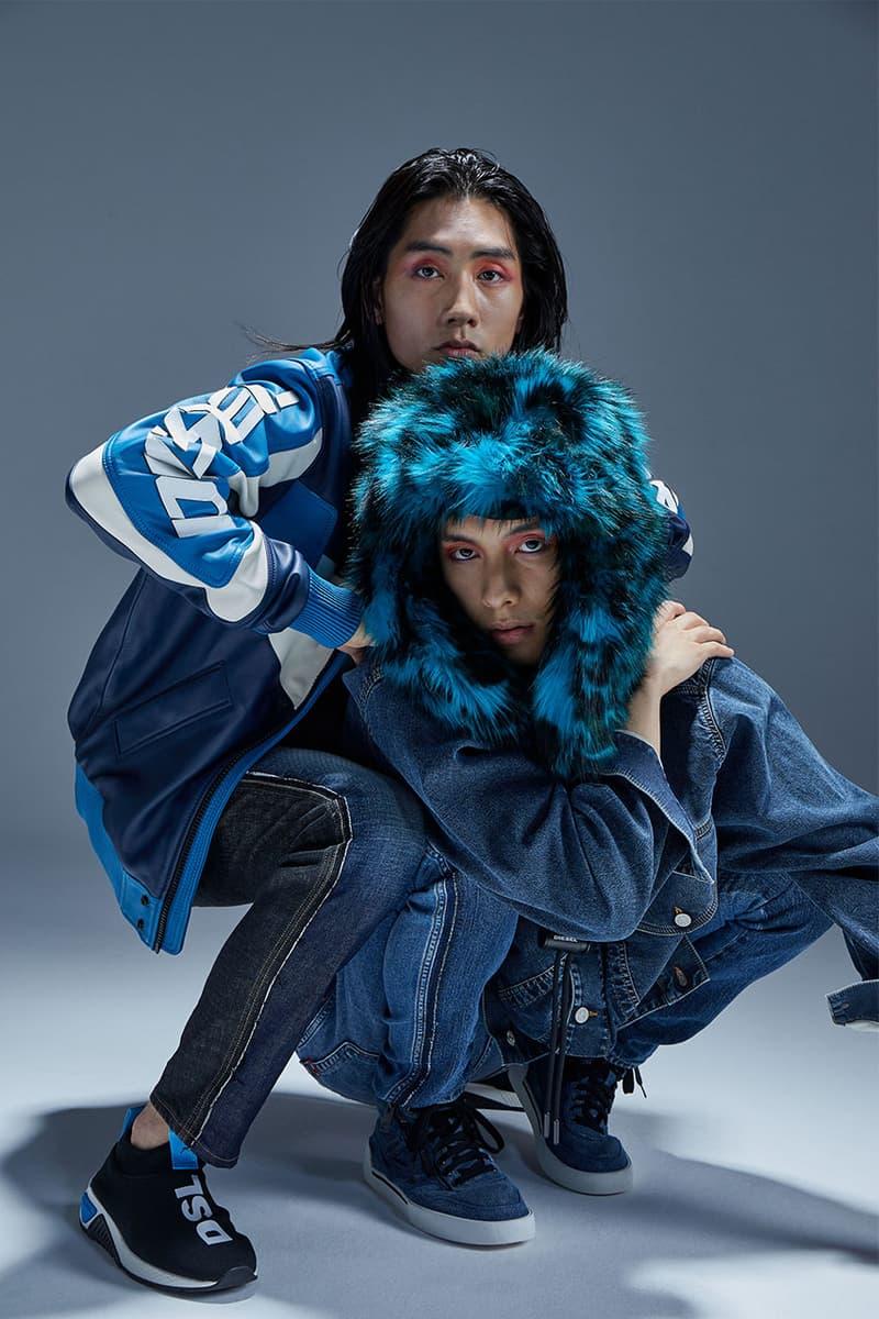 gliiicoのKAIとKIOが着こなす DIESEL の2020 Pre-Fallデニムコレクション
