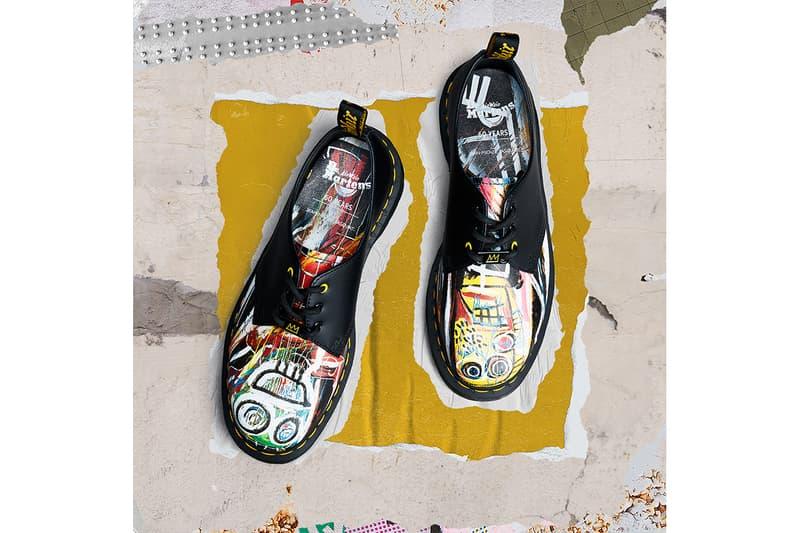 ドクターマーチン Dr. Martens からジャン=ミシェル・バスキアにオマージュを捧げたアイテムが登場 Dr. Martens and Jean-Michel Basquiat Collaboration