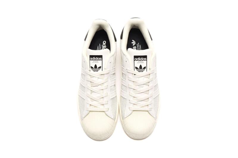 アトモス x アディダスからスーパースターの別注モデルが発売 河村康輔 atmos x adidas Originals からスネーク柄を落とし込んだ Superstar の別注モデルが発売