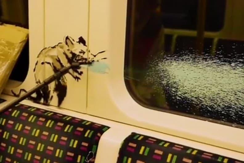 バンクシー 覆面アーティスト Banksy が遂に顔バレか?
