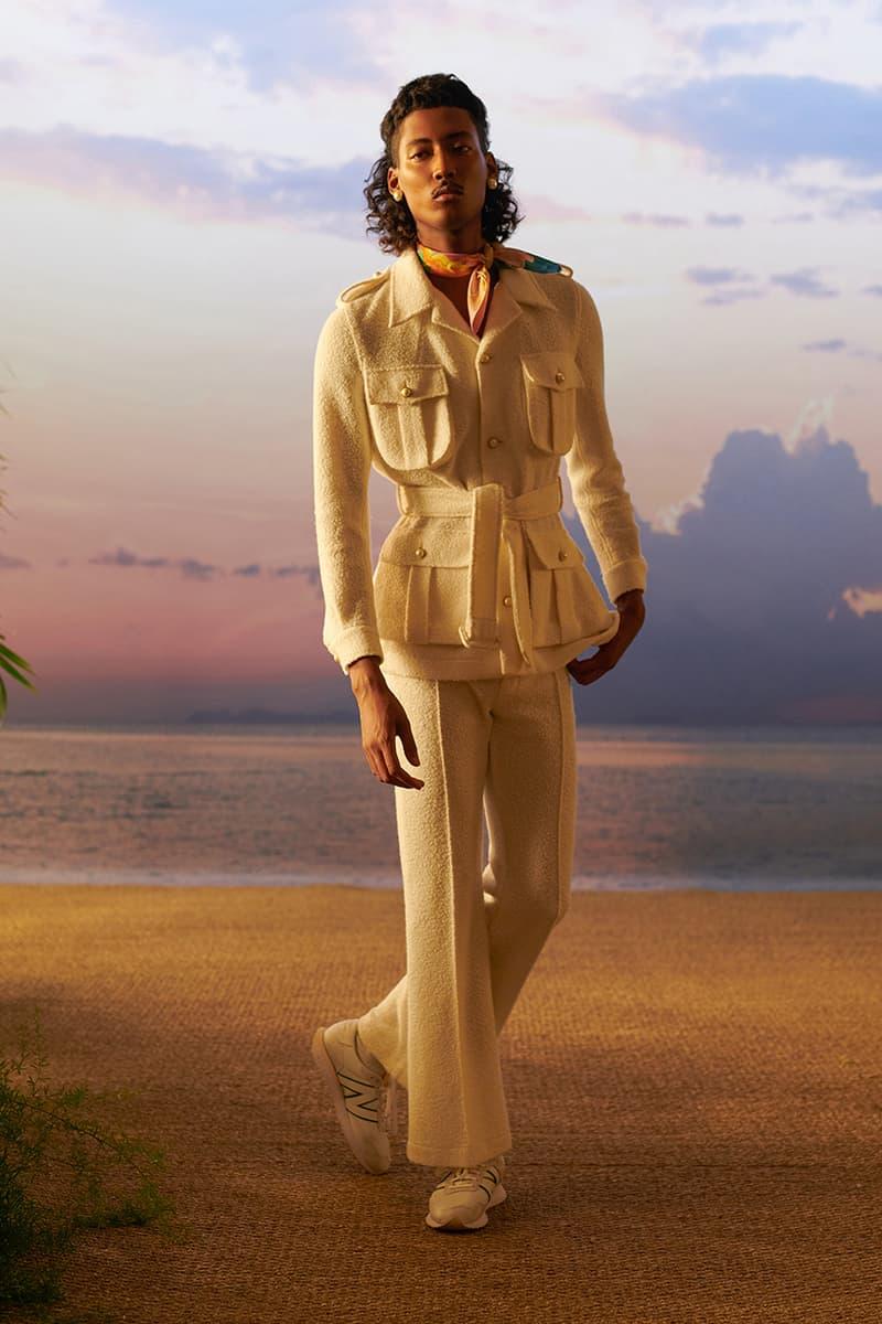 """カサブランカ2021年春夏コレクション Casablanca Celebrates Beauty With """"After the Rain Comes the Rainbow"""" SS21 Collection"""