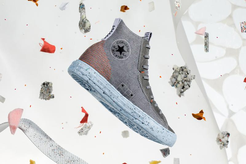 Converse が サステイナブルなデザインにアップデートさせた Chuck Taylor All STAR Crater を発表 converse chuck taylor all star crater hi space hippie nike renewable recycled sustainable official release date info photos price store list buying guide