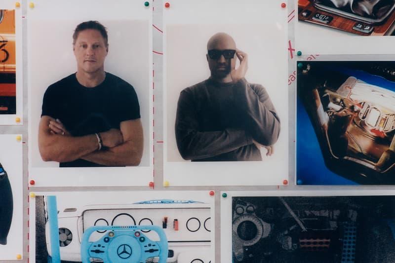ヴァージル・アブロー メルセデス・ベンツ virgil abloh Mercedes-Benz がコラボレーション  mercedes benz Virgil abloh collaboration automotive fashion art 2020