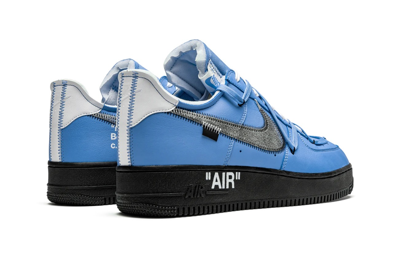 off white air force 1 mca release date