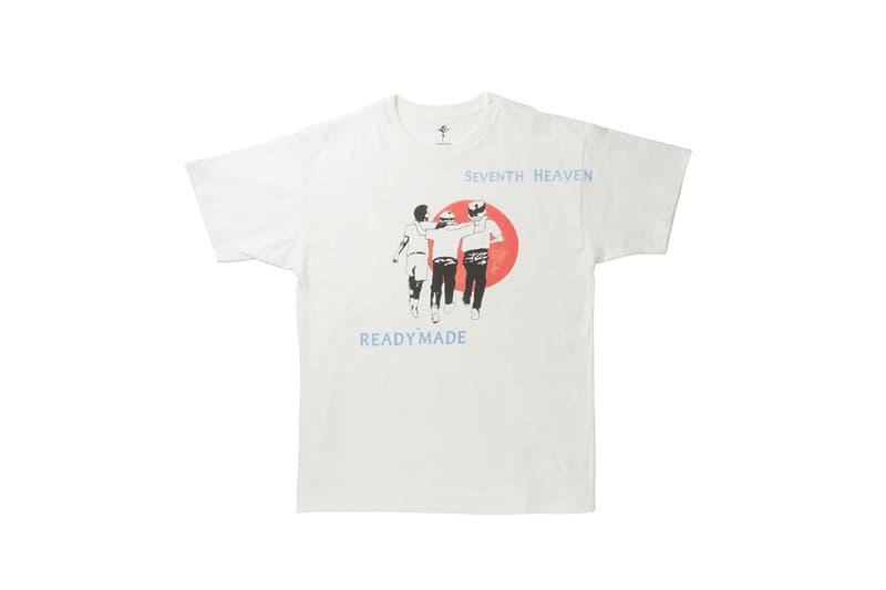 レディメイド x セブンスヘブン READYMADE がLA発の新鋭ブランド SEVENTH HEAVEN とのコラボパックTシャツを発売