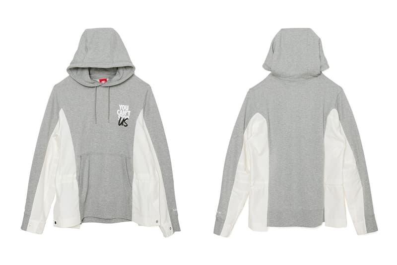 サカイ ナイキ sacai が公式オンラインストアにて Nike との最新コラボアパレルを受注販売