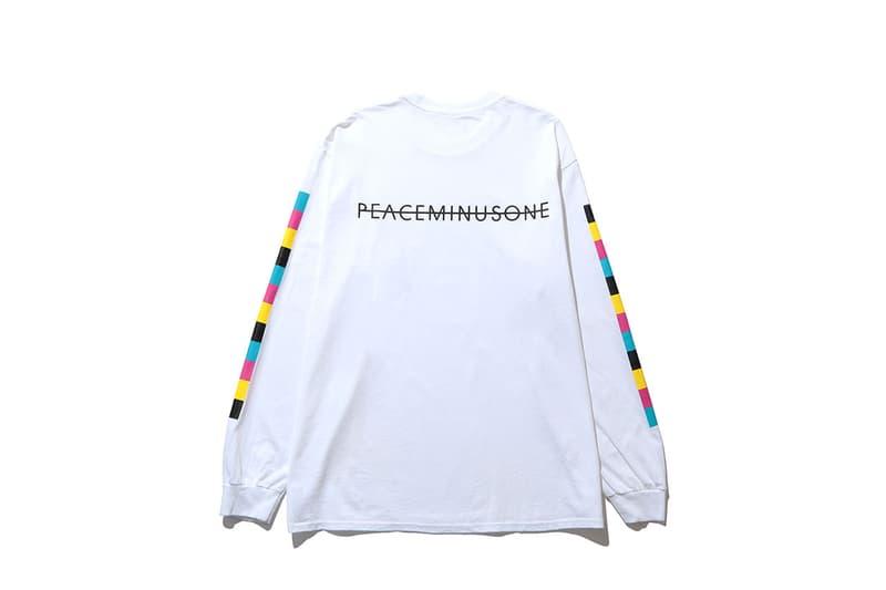 ピースマイナスワン x フラグメント ザコンビニ THE CONVENI から PEACEMINUSONE x fragment design のコラボコレクションが発売
