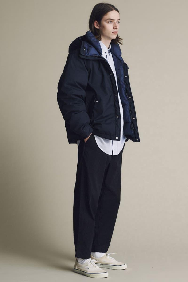ザノースフェイス パープル レーベル 2020年秋冬コレクション THE NORTH FACE PURPLE LABEL Fall/Winter 2020 collection lookbook fw20 japan Eiichiro Homma nanamica
