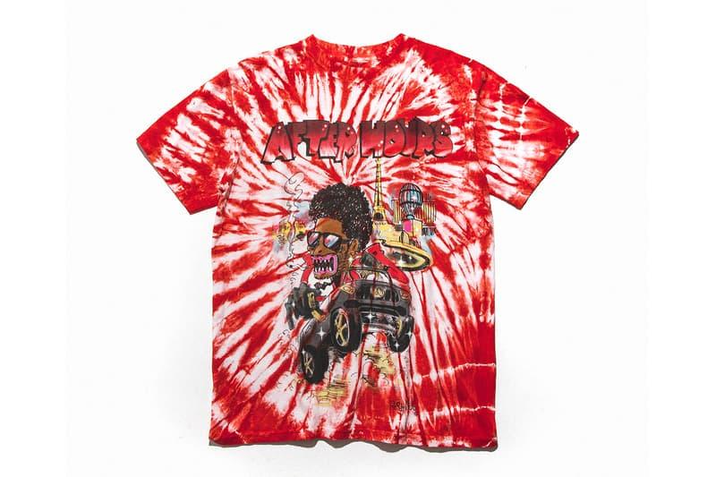 ザ・ウィークエンド レディメイド のカプセルコレクションが HBX 限定で発売 The Weeknd READYMADE After Hours Capsule Release Info HBX T shirt tie dye long short sleeve