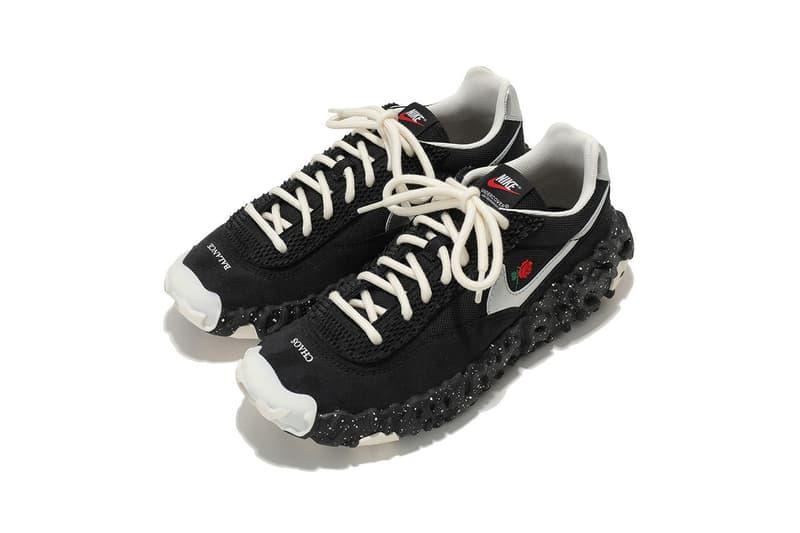 アンダーカバー x ナイキの最新コラボスニーカーにクローズアップ UNDERCOVER x Nike ISPA OverReact SS21 Sneaker Collaboration colorways spring summer 2021 2020 menswear lookbook closer look