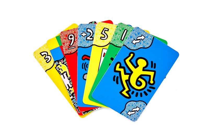 キース・ヘリングの作品をデザインに用いたウノが登場 UNO Artiste Series No. 2: Keith Haring Release Information Card Game American Artist New York City Street Culture Special Edition Deck Mattel Rules Family Games LGBTQ