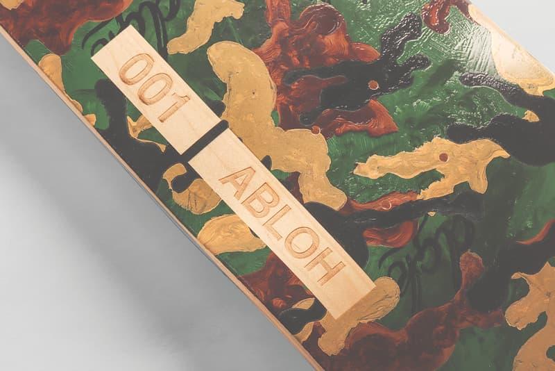 DGK からヴァージル・アブローとのコラボによるスケートデッキが発売 Virgil Abloh Virgil Abloh x DGK Limited Edition Skateboard Design Stevie Williams Saved by Skateboarding Organization 100 Units Art Deck Wood Numbered Engraved Release Information Closer First Look