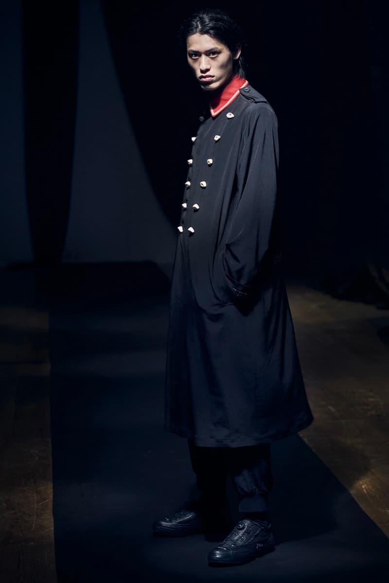 ヨウジヤマモト 2021年春夏コレクション Yohji Yamamoto Spring Summer 2021 Collection Paris Fashion Week runways japanese designer pfw black monochromatic digital