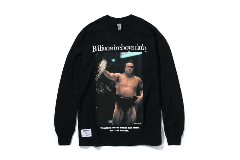 千代の富士 x Billionaire Boys Club のカプセルコレクション第2弾が発売 ビリオネア・ボーイズ・クラブ