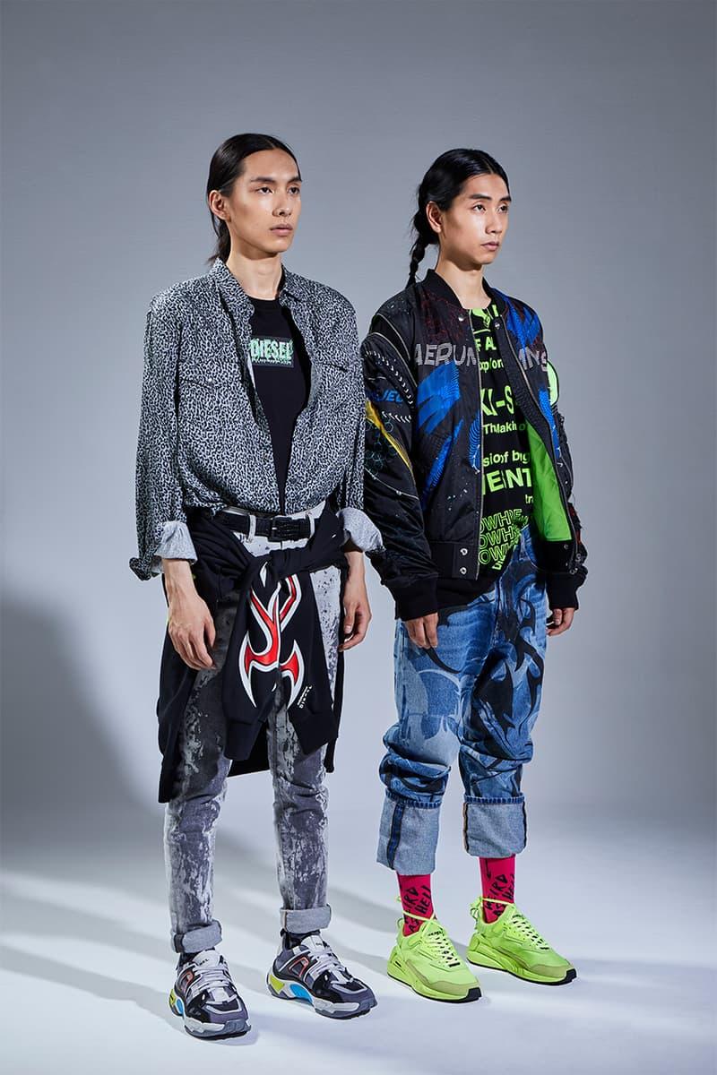 DIESEL の2020 Pre-Fall スニーカーコレクションをテーマにHYPEBEASTが撮り下ろし