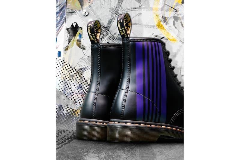ドクターマーチンからニードルスらしさ全開のコラボ8ホールブーツがリリースDR-MARTENS-NEEDLS-collaboration-boots-info