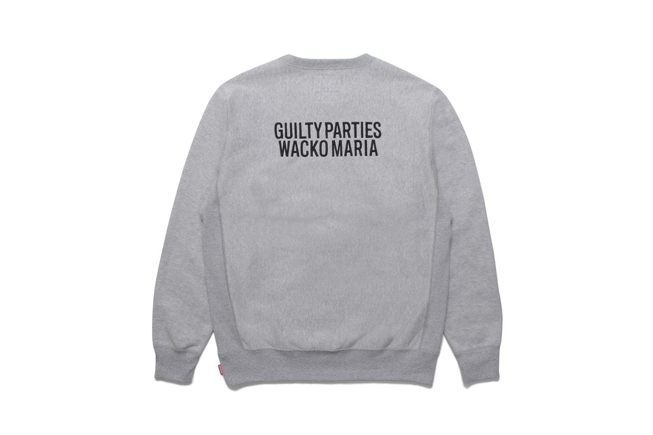 ワコマリアがブランドのダブルアニバーサリーを記念し舐達麻とコラボレーション Wacko Maria and NAMEDARUMA collabo collection